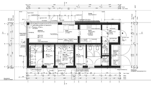 kiosk mit wc anlage an der landmarke lausitzer seenland. Black Bedroom Furniture Sets. Home Design Ideas